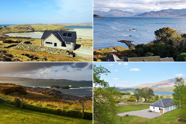 Check out these eye-catching 11 Scottish Island rentals.