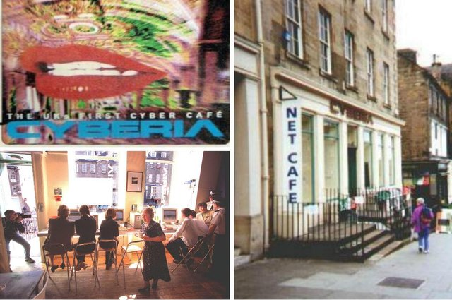 Established in April 1995, Cyberia Edinburgh sparked a new trend by becoming Scotland's first internet cafe.