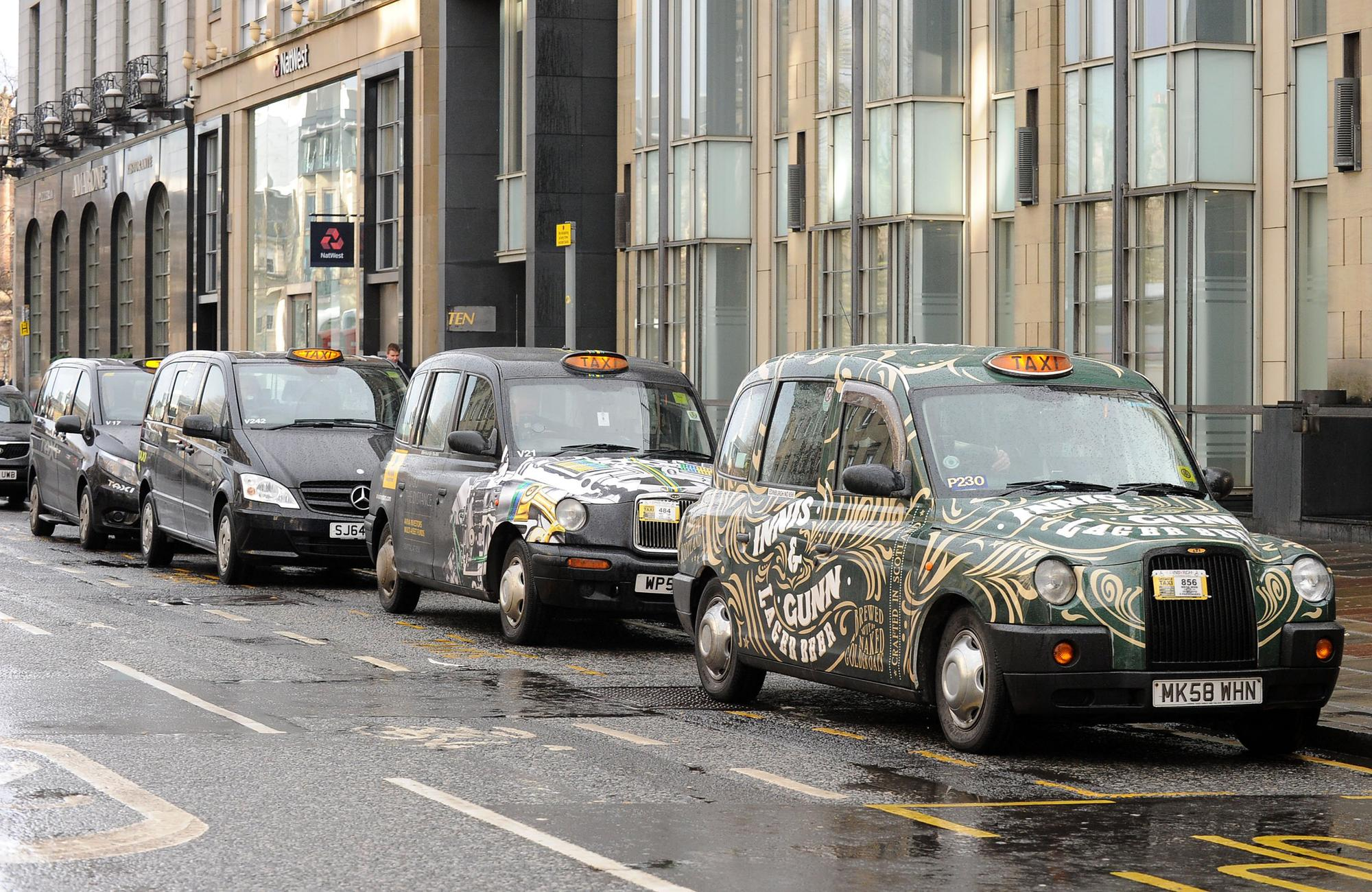 Taxi drivers being made to choose between test fees and feeding families by Edinburgh council