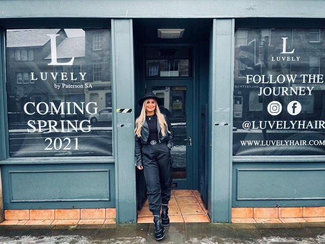 """Salon owner Gemma Hill aims: """"to do as much for the environment as possible"""" with new business venture."""