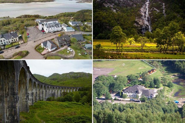 Here are the best places to stay while you follow in the footsteps of Harry Potter around Scotland.