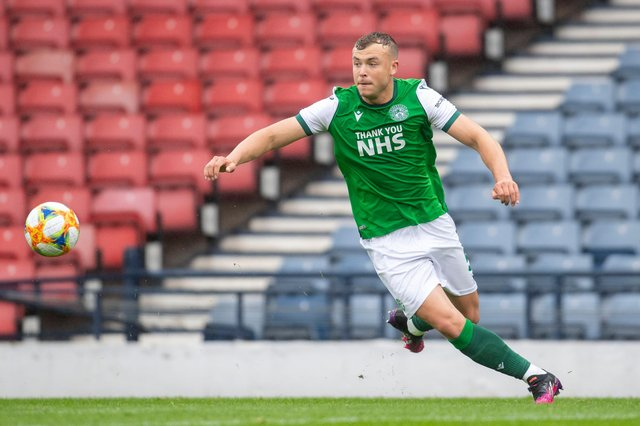 Hibs defender Ryan Porteous is expected to be the subject of transfer bids this summer. Picture: SNS