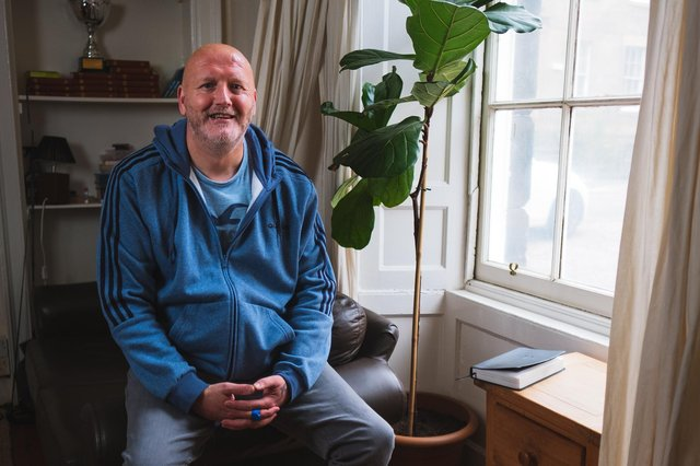 Brian was a previous resident at Bethany Christian Centre and has now moved on to his own flat.