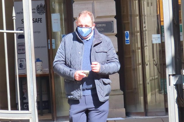 David William Smith made the sleazy phone calls to three Edinburgh stores and asked stunned employees about perfumes and the underwear they were wearing.