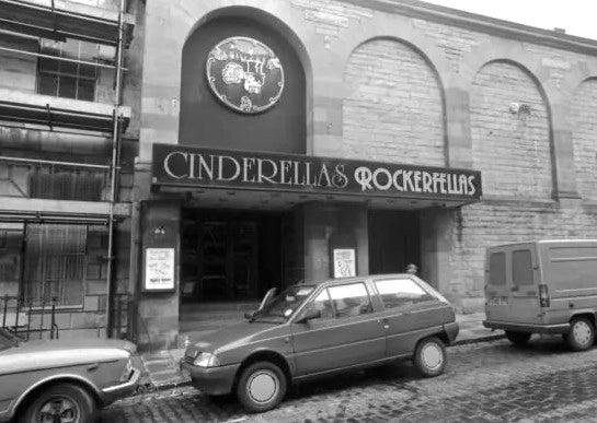 If you were into disco and pop music in the 80s, Cinderellas in Stockbridge was the place to go. Originally a cinema then a dancehall, the venue was transformed into Cinderellas in 1982 and, despite being a little less glamorous than its name might suggest, it remained popular until it burned down in 1991.