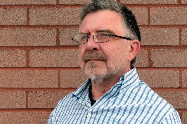 Noel Spencer, director of Leith-based Bare Branding