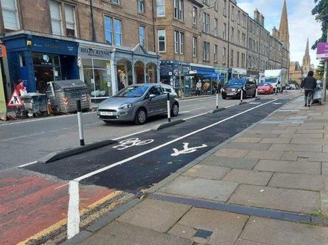Changes to Edinburgh's road layout under the Spaces for People scheme have proved controversial