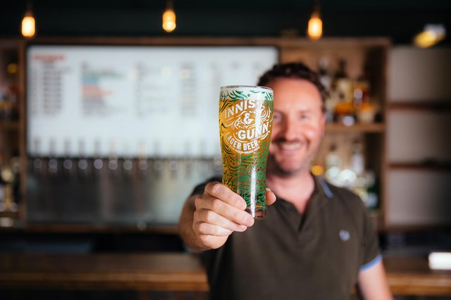 Scottish beer brand Innis & Gunn was founded almost 20 years ago by Dougal Gunn Sharp.