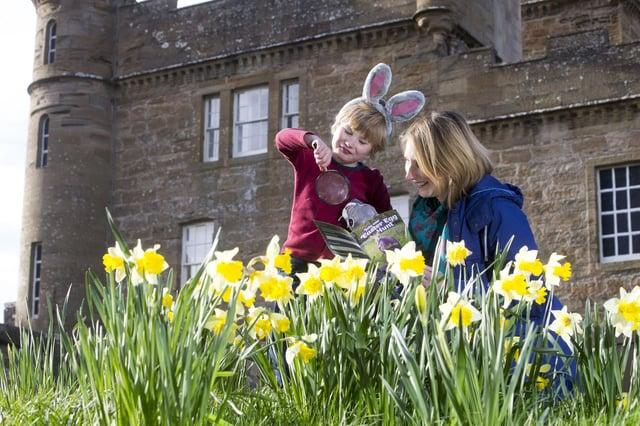 Edinburgh weather forecast for Easter Weekend.