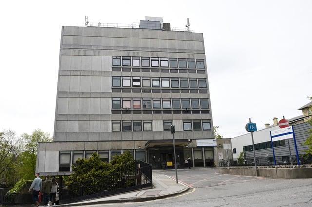 Nine MSPs requested a meeting over the Princess Alexandra Eye Pavilion    Pic Greg Macvean