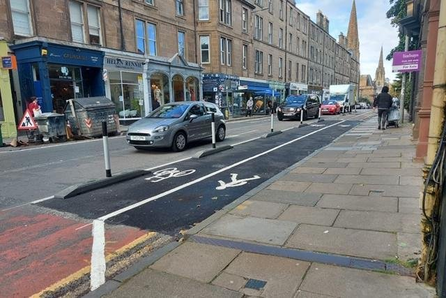 The comments come as Edinburgh City Council announced it is set to launch a city-wide consultation on which Spaces for People schemes residents may wish to keep permanently.