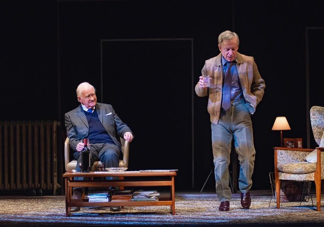 Oliver Ford Davies as Graham Green and Stephen Boxer as Kim Philby