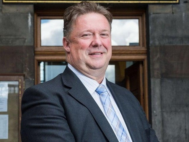 Top earner: Chief Exec Andrew Kerr is paid £175,740