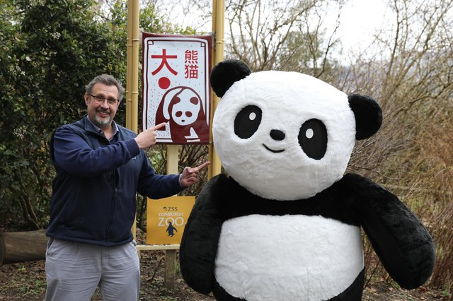 The zoo have partnered with eco-brand The Cheeky Panda which has donated £50,000 to the fundraiser