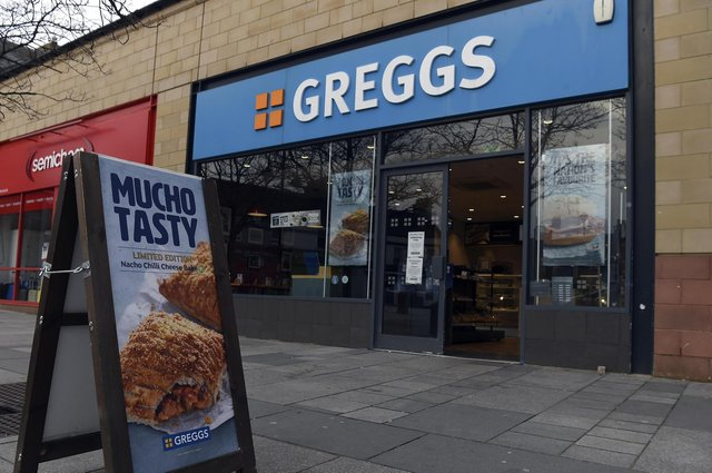 A familiar sight on most high streets, Greggs has some 2,100 shops across the UK. Picture: Lisa Ferguson