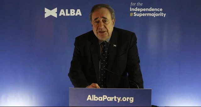Alex Salmond launched the Alba Party last week