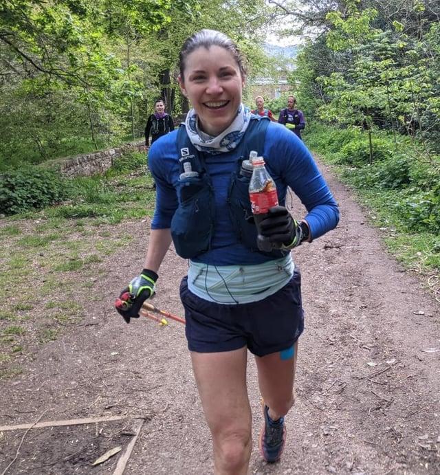 Chiara Franzosi started running six years ago.