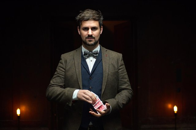 Magician Kevin Quantum will be part of next month's Army at the Fringe line-up.