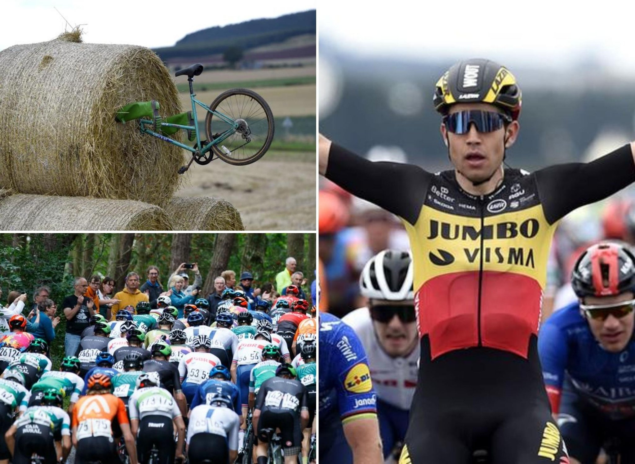 Tour of Britain in photos: Wout Van Aert gained the epic race in a dash end because the tour completed in Aberdeen