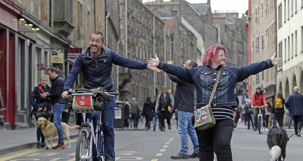 Major Edinburgh roads set to be shut, have pavements widened or bus lanes added to improve active travel, council announce