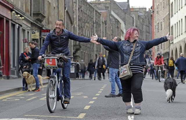 Edinburgh will close some streets as part of an action plan to improve active travel provision in the city.