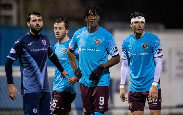 Hearts defeated Raith Rovers 4-0 the last time the teams met at Stark's Park. Picture: SNS