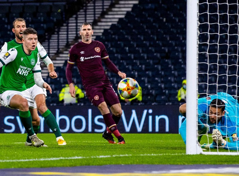 How the Hearts players rated as they defeated Hibs to reach Scottish Cup  final   Edinburgh News