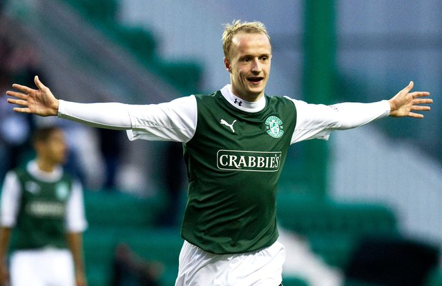Leigh Griffiths has been linked with a return to Hibs. Picture: SNS