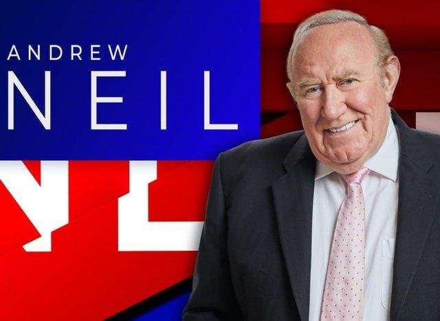 GB News head and chief presenter Andrew Neil