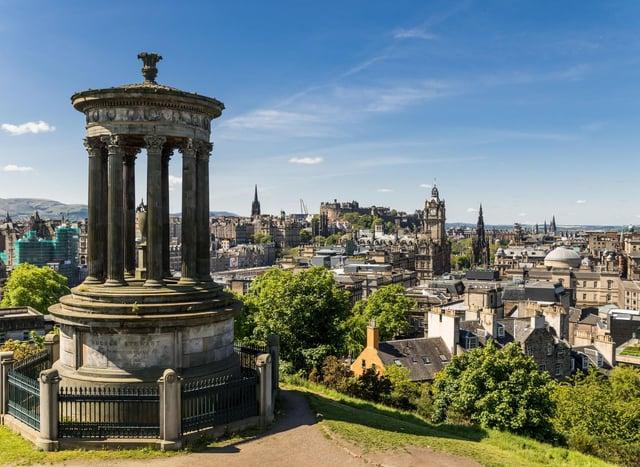 Temperatures are set to soar across Edinburgh today.