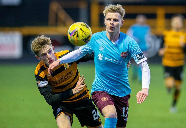 Hearts will face Alloa for the fourth time this season on Friday night. Picture: SNS