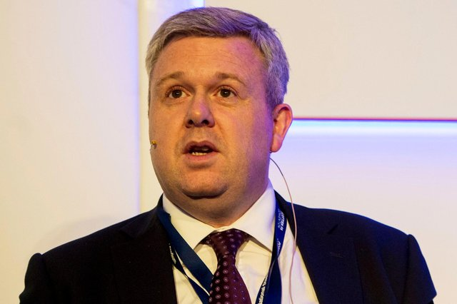 Hearts chief executive Andrew McKinlay.