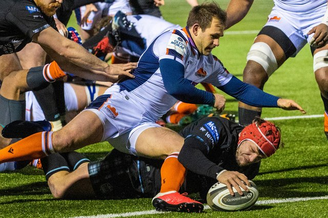Glasgow Warriors and Edinburgh will meet twice more in the Rainbow Cup. Picture: Craig Williamson/SNS