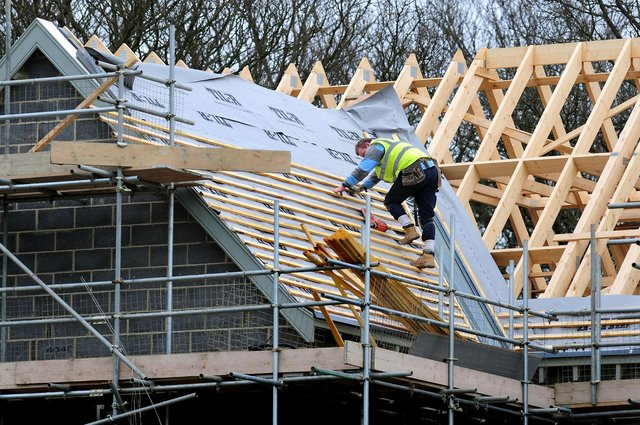 Low interest rates, government schemes and a stamp duty holiday have helped support the housebuilding sector. Picture: Rui Vieira/PA Wire
