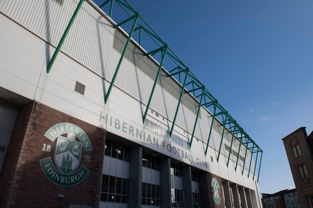 A general view of Easter Road