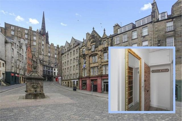Edinburgh's 'Harry Potter' flat is up for sale picture: ESPC