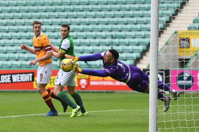 How does Ofir Marciano compare to Scottish Premiership goalkeepers in keeping the ball out the net? Picture: SNS