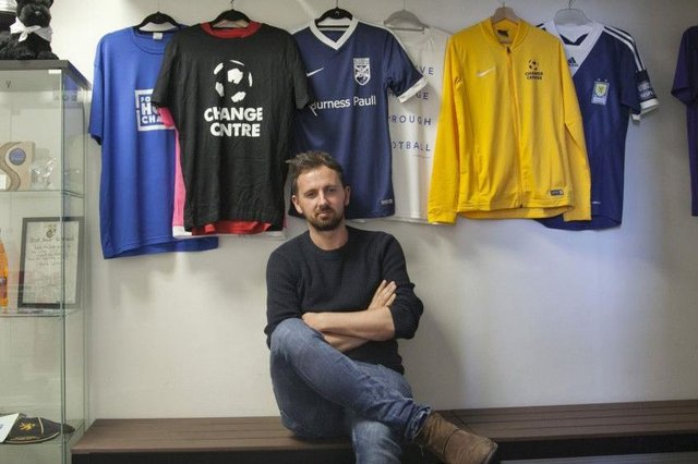 David Duke, Founder and CEO of Street Soccer Scotland, hopes the new space will allow the charity to extend its reach by offering a safe environment for individuals to come for help, as well as allowing them to have a greater positive impact upon those they already work with.
