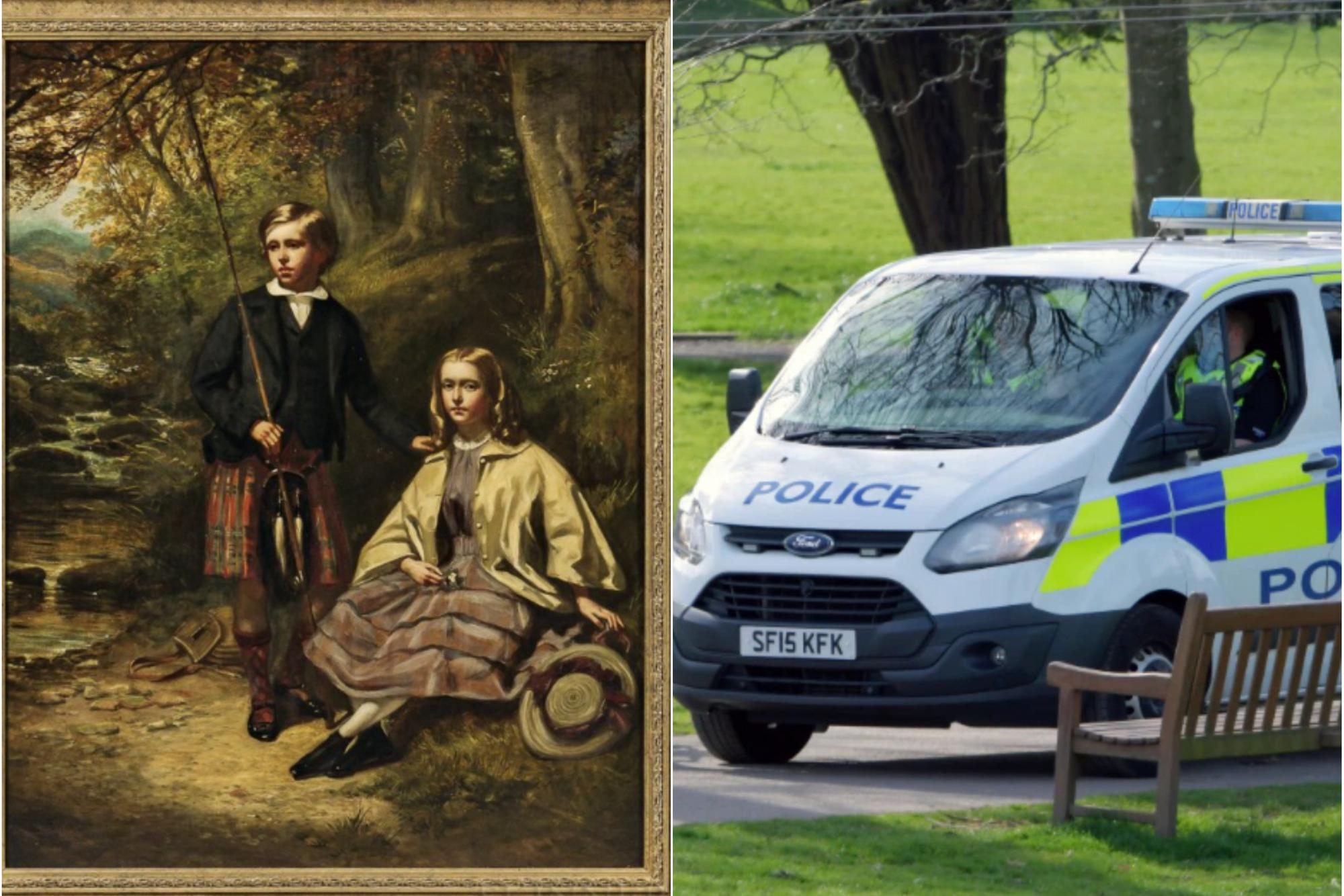 Police hunt art thief after valuable painting stolen from Edinburgh property