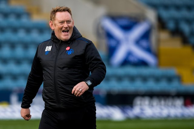 David Hopkin is the new manager of Ayr United.