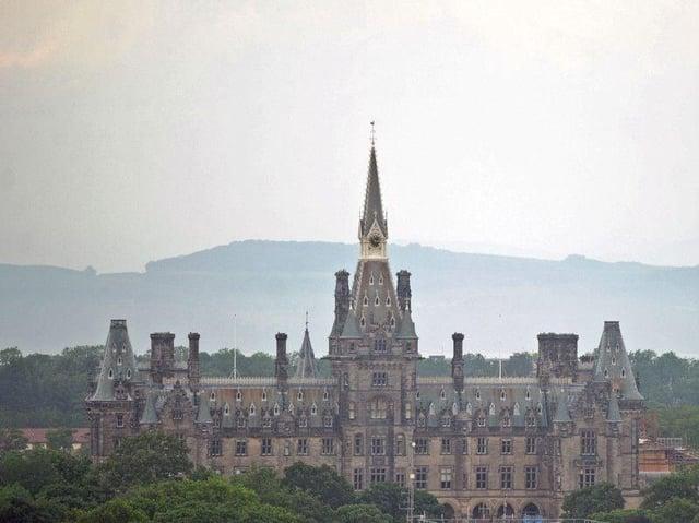 Fettes College in Edinburgh. Pic: Neil Hanna