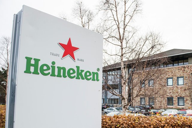 Heineken is present in Scotland with the historic Caledonian Brewery, and its UK corporate base in Edinburgh's Gyle area, which is also home to its Star Pubs & Bars arm. Picture: Ian Georgeson
