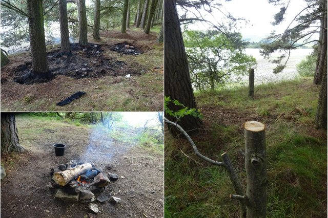 Warning over anti-social behaviour at Gladhouse Reservoir in Midlothian.