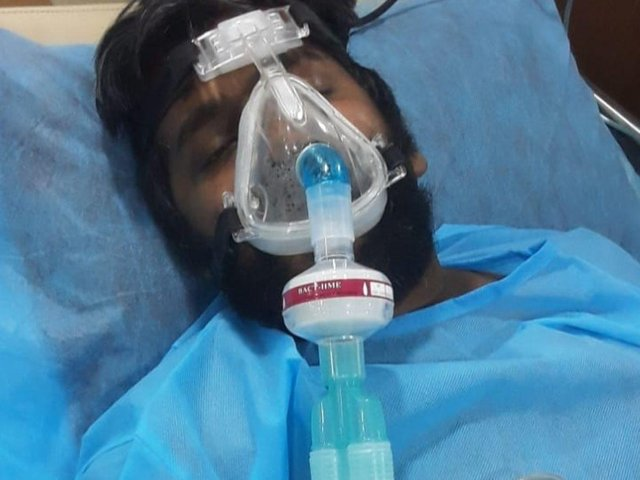 Antony Padmaraj is fighting for his life at a hospital in Tamil Nadu.