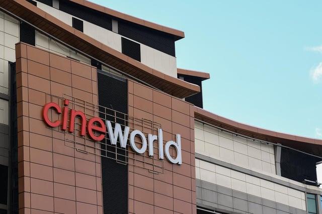 Cineworld on Renfrew Street, Glasgow.