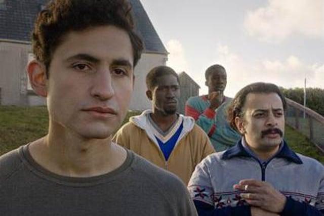 Amir El-Masry, Ola Orebiyi, Kwabena Ansahis and Vikash Bhai star in new film Limbo.