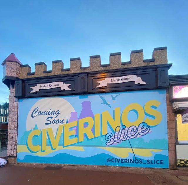Civerinos are opening a new pizza joint on Portobello Promenade next year.