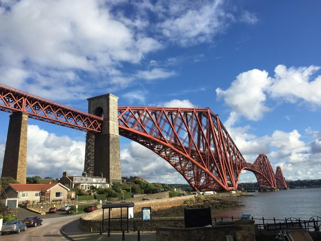 The £7.5m project will see the north span of the iconic bridge refurbished and repainted.