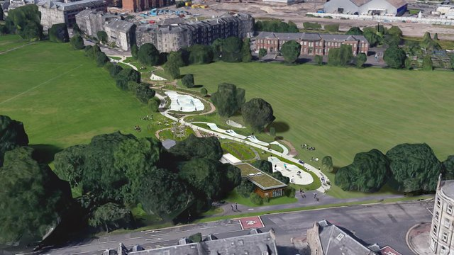 How the skatepark could look Image: V J Aerial Imaging