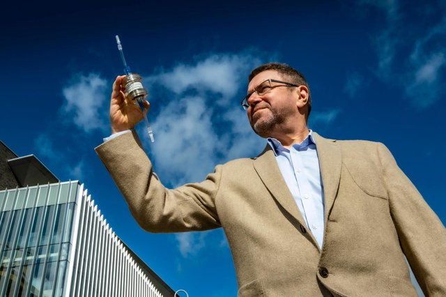 Jeremy Wheeler, CEO of BioCaptiva, which has developed a medical device that captures circulating free DNA from the blood of patients in much greater quantities than the current standard of a single blood draw can. Picture: Peter Devlin